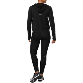 asics Thermopolis Felpa con mezza zip Donna, performance black